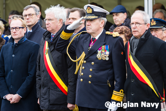 Commemoration Herald®Belgian Navy